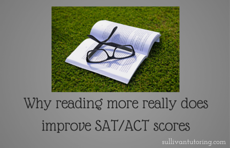 Why reading more really does improve SAT-ACT scores