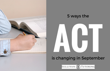 5 ways the ACT is changing