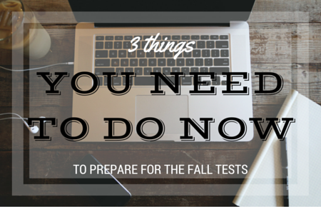 3 things you need to do now