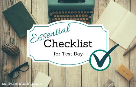 sullivantutoring checklist